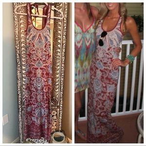 Billabong maxi dress Small